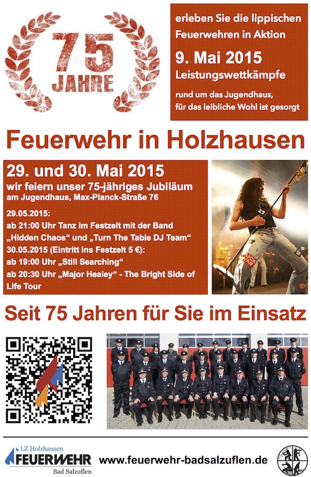 75 Jahre Feuerwehr in Holzhausen
