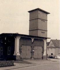 Spritzenhaus mit Steigerturm von 1899